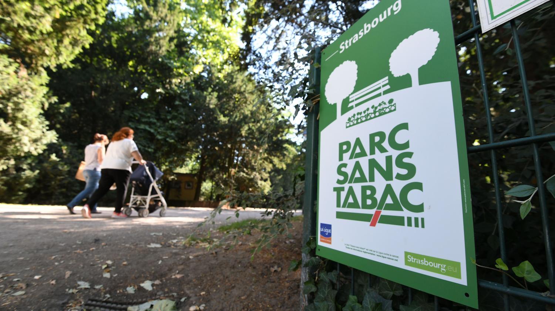 strasbourg interdit le tabac dans les parcs et les jardins. Black Bedroom Furniture Sets. Home Design Ideas