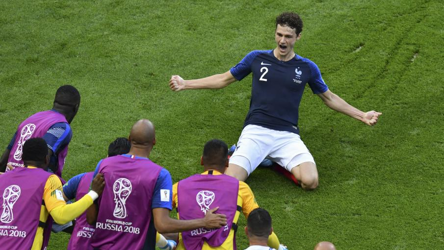 Coupe du monde 2018 benjamin pavard h ros du match contre l 39 argentine a d sormais une - Jeux de foot match coupe du monde ...