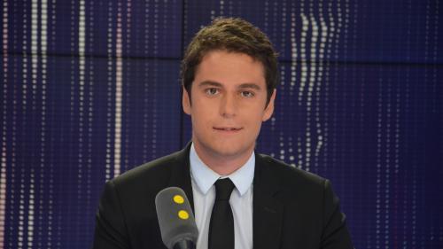 """Gabriel Attal : """"Jean-Luc Mélenchon fait l'éloge de l'impunité pour les puissants"""""""