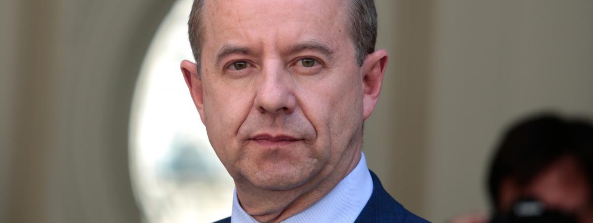 L\'ex-garde des Sceaux, Jean-Jacques Urvoas, le 17 mai 2017 à Paris.