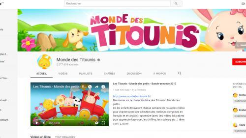 Le Monde des Titounis, une mystérieuse chaîne YouTube pour enfants devenue machine à cash
