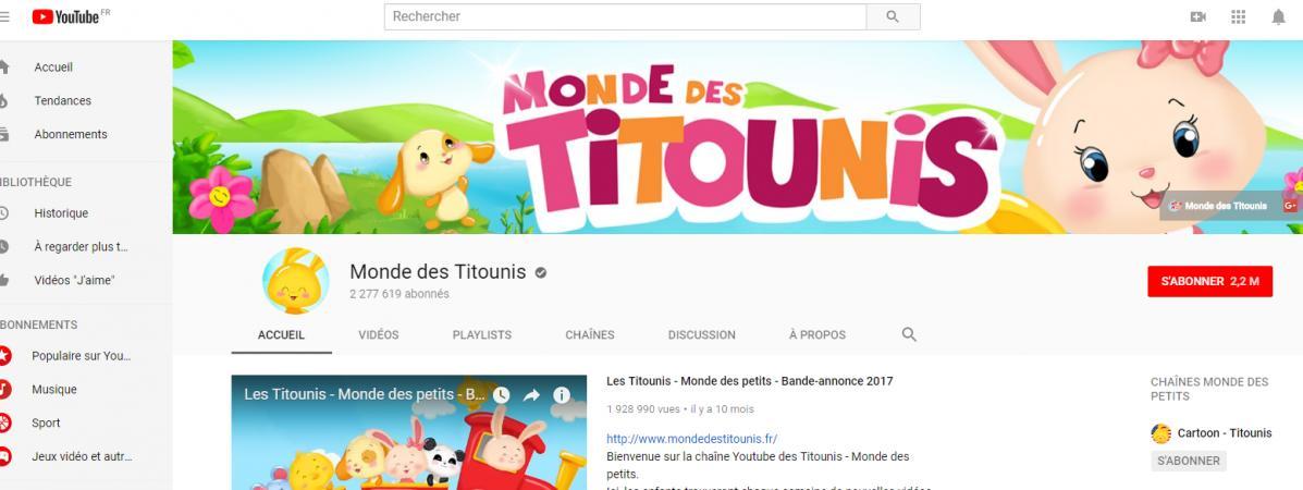 Le Monde Des Titounis Une Mystérieuse Chaîne Youtube Pour