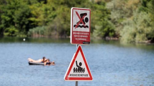 """Risque de noyade : """"Il faut diminuer le choc thermique au maximum"""", préconise un maître-nageur"""