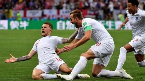 DIRECT. Coupe du monde 2018 : à la mi-temps, l'Angleterre mène 1-0 face à la Croatie