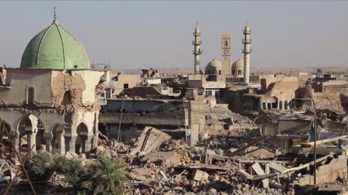 Mossoul, reconstruction à l'arrêt