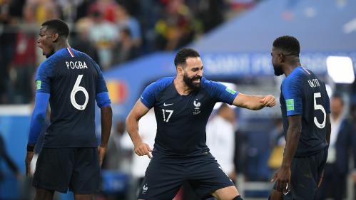 Coupe du monde 2018 : ambianceur, porte-bonheur et bon joueur, pourquoi Adil Rami est devenu indispensable aux Bleus