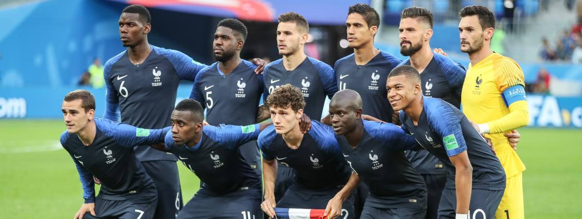 Coupe du monde 2018 que faisaient les bleus d 39 aujourd - Finale de la coupe de france de football ...