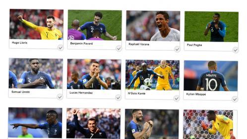Coupe du monde 2018 : Mbappé, Griezmann, Kanté, Pogba... Votez pour votre joueur préféré