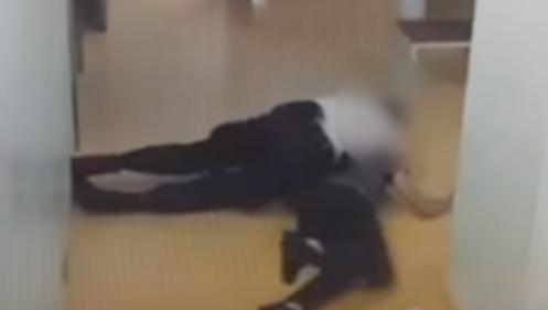 Deux enquêtes ouvertes après la diffusion d'une vidéo où un policier passe à tabac un prévenu au TGI de Paris