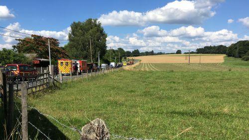 Haute-Vienne : un forcené tente de s'immoler, son bébé sauvé des flammes par le GIGN
