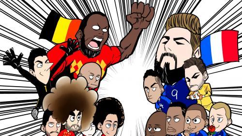 Coupe du monde 2018 : ce dessinateur japonais a réalisé les dessins les plus cool de la compétition