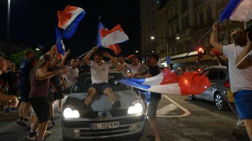 """Coupe du monde 2018 : les autorités appellent à la """"prudence"""" sur les routes après la finale"""