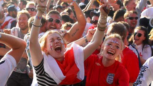 "Coupe du monde 2018 : la chanson ""Three Lions"" prend la tête du hit parade britannique"