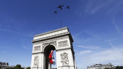 DIRECT. Regardez le défilé militaire du 14-Juillet, avec pour la première fois des images 4D
