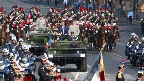 DIRECT. 14-Juillet : regardez le défilé militaire
