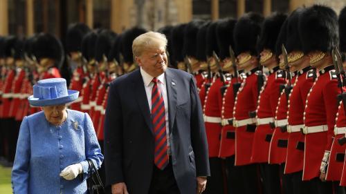 Faute de protocole, fauteuil de Churchill... Quatre moments où Donald Trump s'est mis les Britanniques à dos