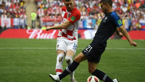 Coupe du monde 2018 : la Croatie égalise face à la France grâce à un but de Perisic (1-1). Ecoutez et commentez notre direct