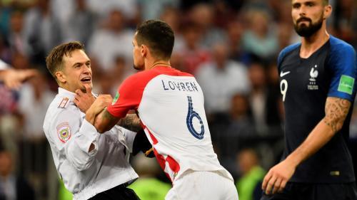 Coupe du monde 2018 : les Pussy riot revendiquent l'envahissement du terrain lors de la finale France-Croatie