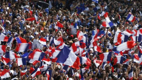 VIDEO. Coupe du monde 2018 : regardez la joie des supporters massés au Champ-de-Mars lors du coup de sifflet final de France-Croatie