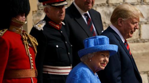 """Selon Donald Trump, la reine estime que le Brexit est un """"problème très complexe"""""""