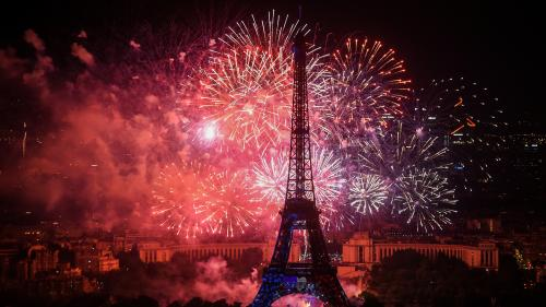 VIDEO. Revivez le feu d'artifice du 14-Juillet à Paris