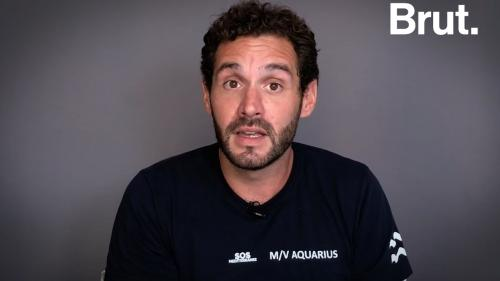 VIDEO. Immigration : Ce marin-sauveteur raconte le périple de l'Aquarius