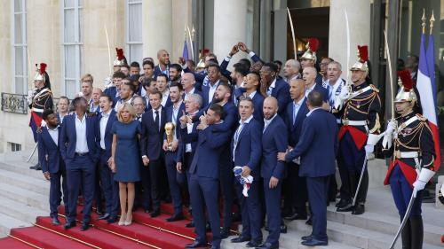 DIRECT. Les Bleus accueillis en héros après leur titre mondial