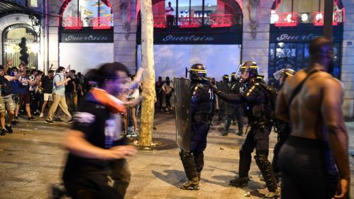Victoire de la France en Coupe du monde: 130personnes ont été placées en garde à vue en région parisienne