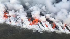 VIDEO. Une explosion de lave blesse 23touristes à Hawaï