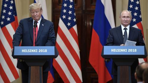 """A Helsinki, """"Trump a placé Poutine au-dessus d'institutions dont il doit être le garant"""""""
