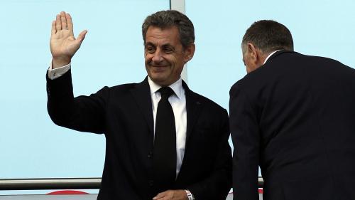 """Victoire des Bleus : """"Voir les Français aussi heureux, ça fait vraiment plaisir"""", estime Nicolas Sarkozy"""
