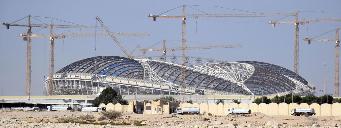 Nos projets n 39 ont pas de retard le qatar veut rassurer - Qatar football coupe du monde ...