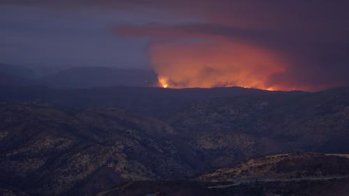 Californie : un incendie menace le parc naturel de Yosemite