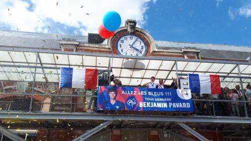 Coupe du monde 2018 : Benjamin Pavard et Hugo Llroris accueillis en héros dans leur ville d'origine