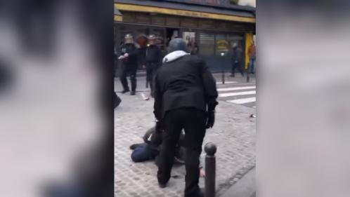 """Agression d'un manifestant par un collaborateur de l'Elysée : """"C'était à la fois incompréhensible et d'une très grande violence"""""""