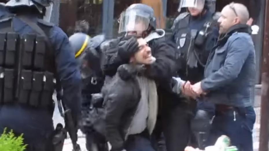 VIDEO. De nouvelles images montrent ce qu'il s'est passé avant l'entrée en scène d'Alexandre Benalla le 1er mai