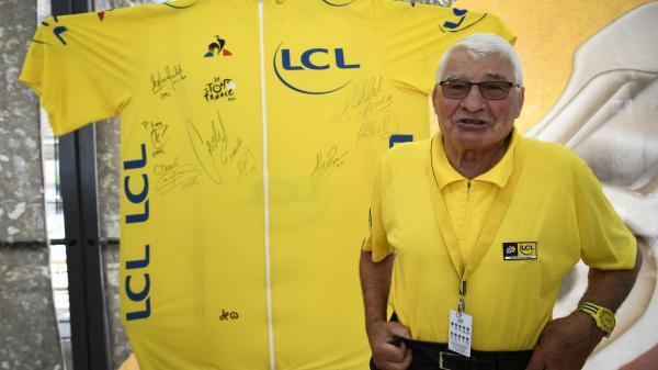 """Raymond Poulidor : """"Je dois tout au vélo. Le jour où je ne serai plus sur le Tour de France, ça sera la fin de Poulidor"""""""