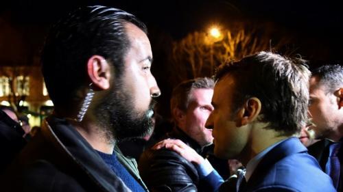 VIDEO. Quelle était la place d'Alexandre Benalla auprès d'Emmanuel Macron ?