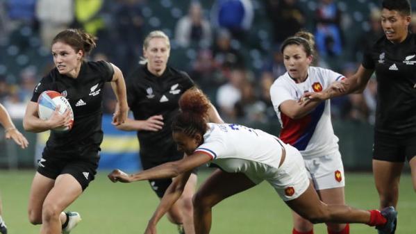 Rugby à VII : les Françaises s'inclinent en finale de la Coupe du monde