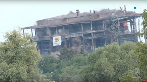 VIDEO. Moselle : une ancienne centrale thermique d'EDF a été détruite aux explosifs