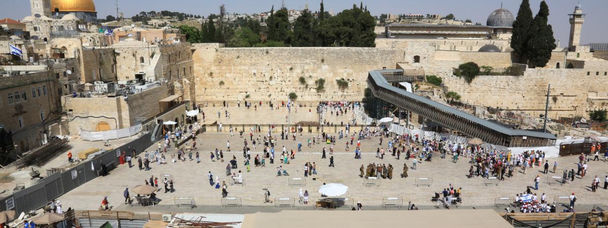 Jerusalem Fermeture Partielle Du Mur Des Lamentation