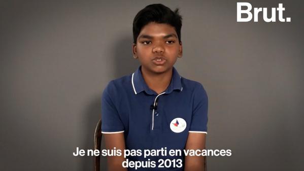 VIDEO. Grâce à une association, cet adolescent a pu partir en vacances