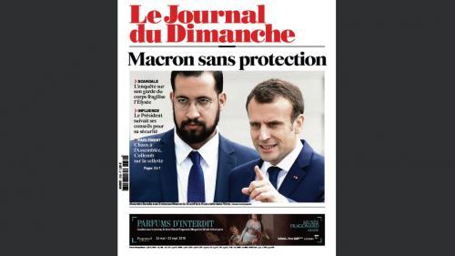 """Affaire Benalla : l'Ifop et """"Le JDD"""" ont décalé la parution de la cote de popularité de Macron """"compte tenu de l'actualité"""""""