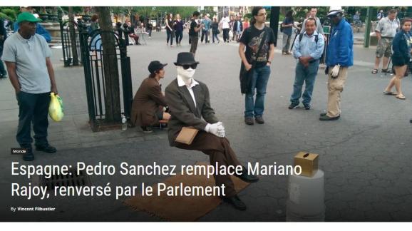 Capture d\'écran du site belge nordpresse.be, le 26 juillet 2018.