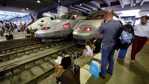 Seulement un train sur deux circulera dimanche depuis la gare Montparnasse
