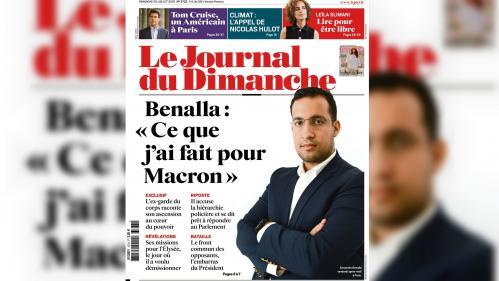 """""""Ça devient pathétique"""" : la une du """"Journal du Dimanche"""" sur l'affaire Benalla vivement critiquée"""