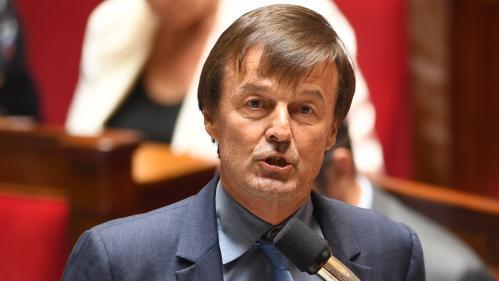 Nicolas Hulot appelle à « l'union sacrée » sur le climat