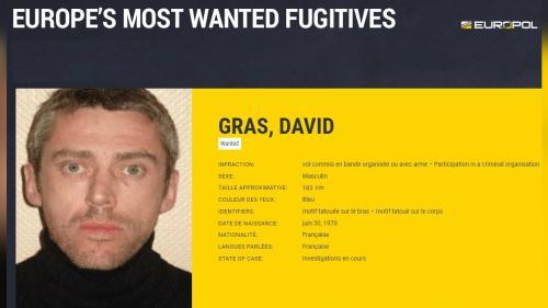 Le Français David Gras, l'un des braqueurs les plus recherchés d'Europe, s'est rendu à la justice après sept ans de cavale