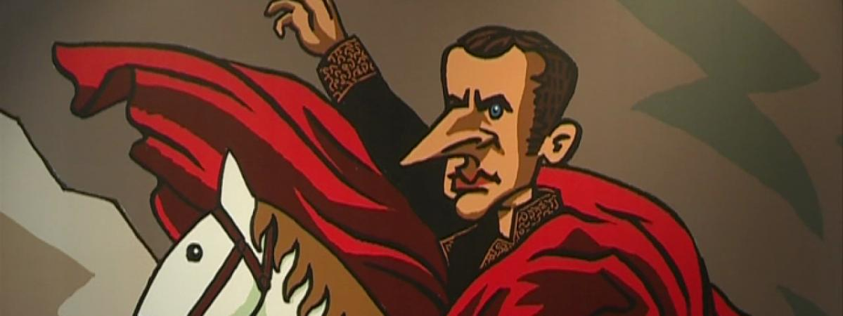 """Résultat de recherche d'images pour """"caricature macron louis 14"""""""""""