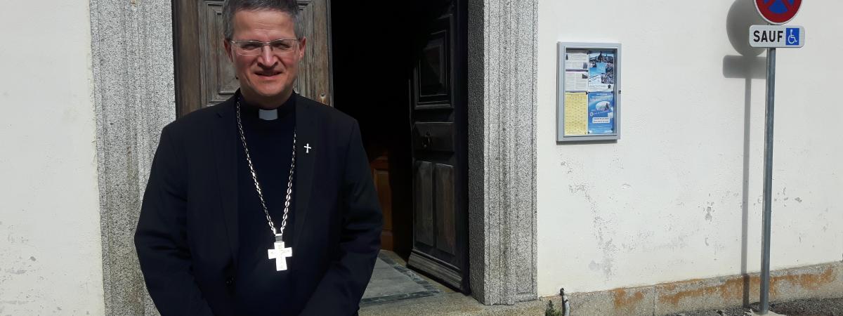 Xavier Malle, évêque de Gap et d'Embrun.